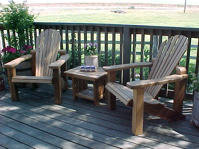 high end adirondack chairs